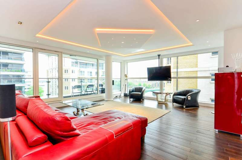 2 Bedrooms Flat for sale in Aspect Court, Imperial Wharf, SW6
