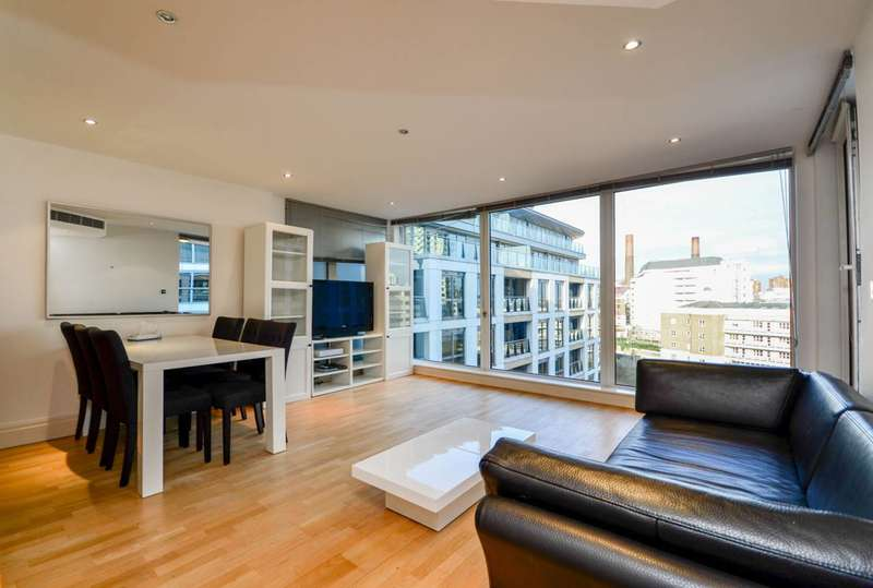 2 Bedrooms Flat for sale in Regency House, The Boulevard, Imperial Wharf, SW6
