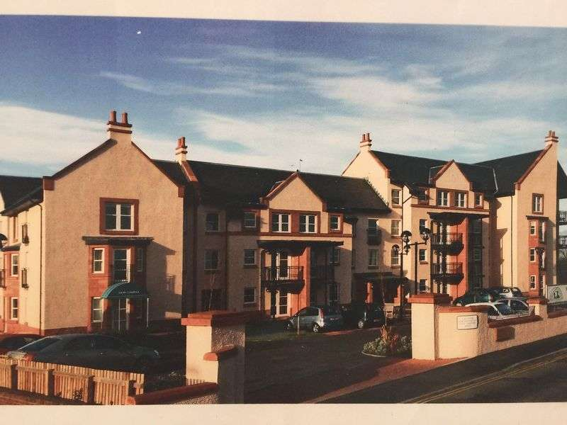 2 Bedrooms Retirement Property for sale in 21 Belle-Vue Court, Dunbar, EH42 1YR