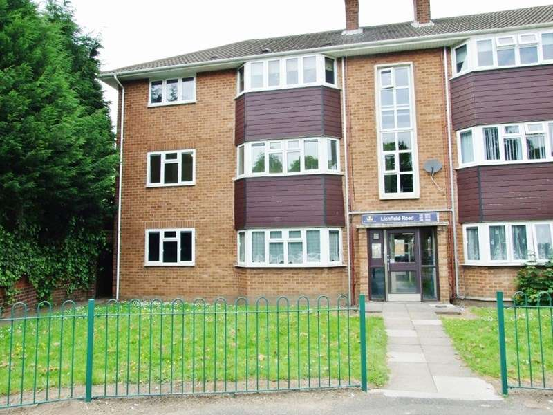 2 Bedrooms Flat for sale in Lichfield Road, Wednesfield, Wolverhampton