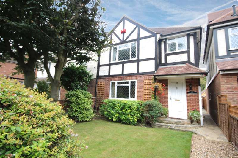 3 Bedrooms Semi Detached House for sale in Liberty Rise, Row Town, Surrey, KT15