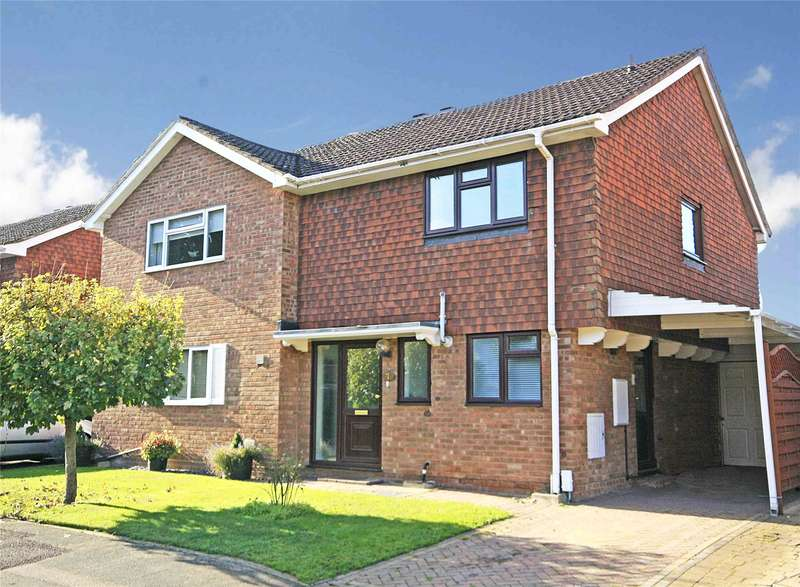3 Bedrooms Semi Detached House for sale in Meadway Drive, New Haw, Surrey, KT15