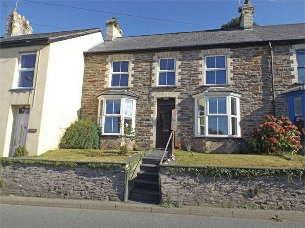2 Bedrooms Terraced House for sale in Taliesin, Machynlleth, Ceredigion