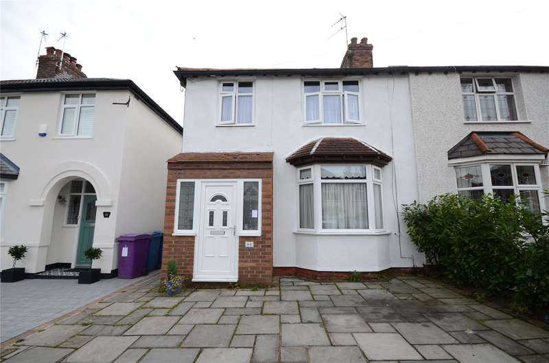 3 Bedrooms Semi Detached House for sale in Towers Road, Childwall, Liverpool, L16