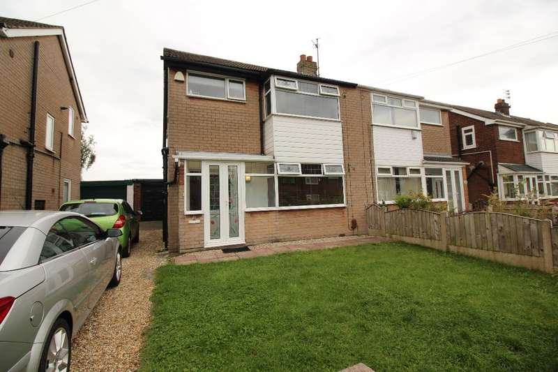 3 Bedrooms Semi Detached House for sale in Hertford Drive, Tyldesley, Manchester, M29