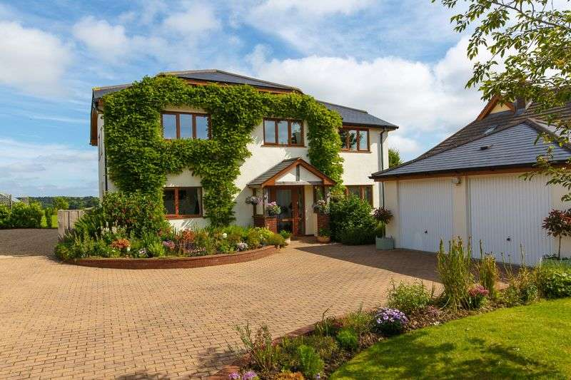 4 Bedrooms Detached House for sale in Fenstun House, Coldridge