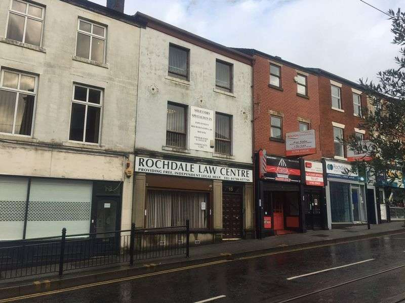 Property for sale in FOR SALE - 15 DRAKE STREET, ROCHDALE. OL16 1RE