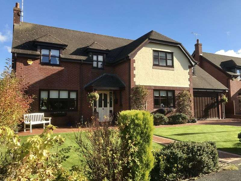 5 Bedrooms Detached House for sale in Alynfields, Off Fagl Lane, Hope, Wrexham
