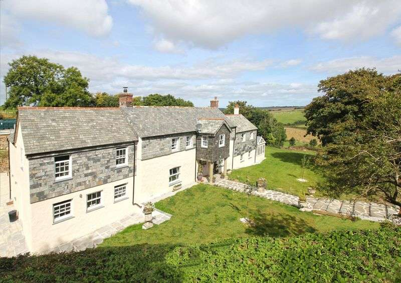6 Bedrooms Detached House for sale in Near West Portholland, Tregony and Veryan.