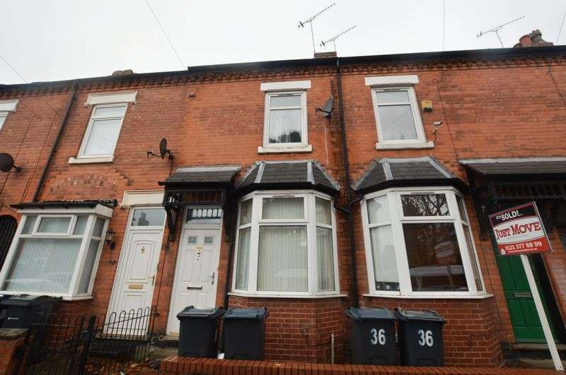 3 Bedrooms Terraced House for sale in Clarence Road, Birmingham