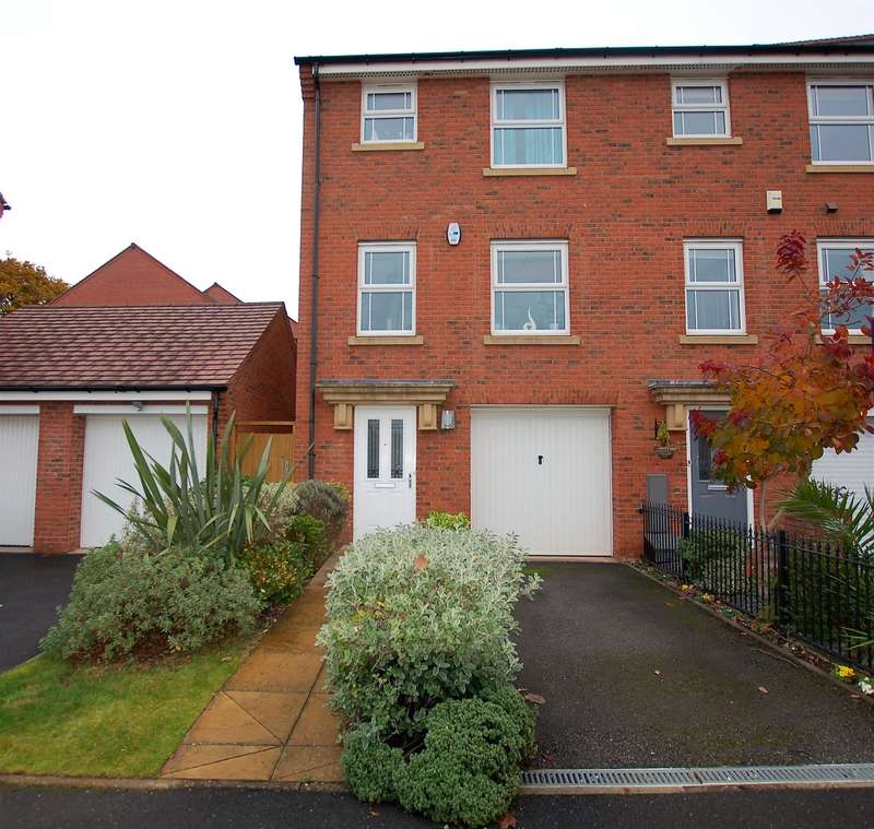 4 Bedrooms Town House for sale in Kirkpatrick Drive, Wordsley, West Midlands, DY8 5TG