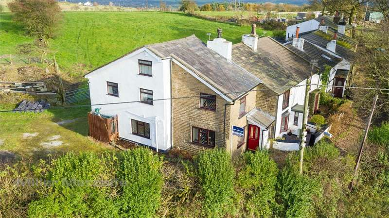 3 Bedrooms Cottage House for sale in Smithy Fold, Watling Street, Affetside, Bury, Lancashire