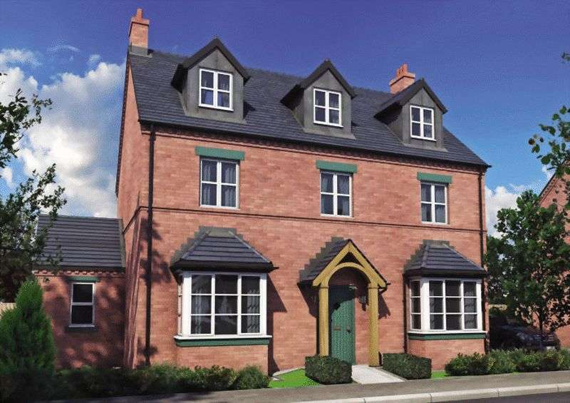 5 Bedrooms Detached House for sale in Plot 96 The Dove Off Burton Road, Tutbury