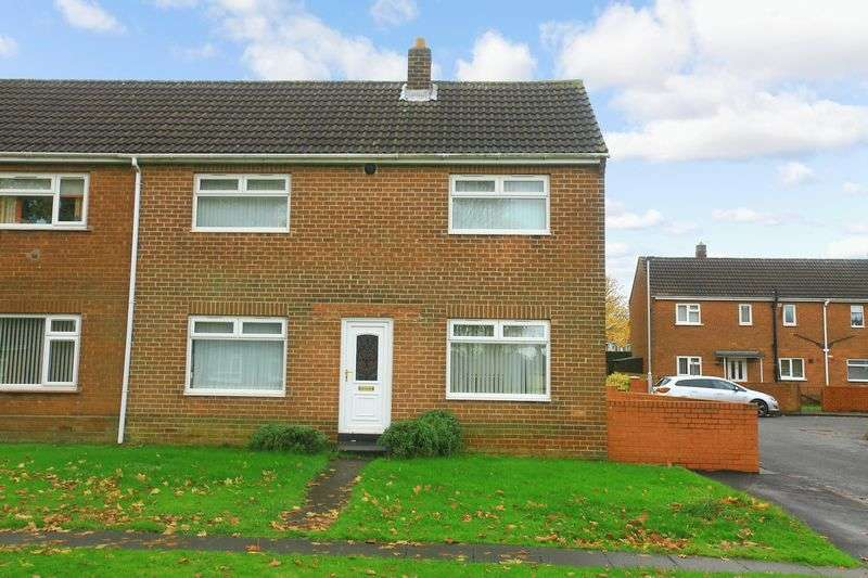 2 Bedrooms Semi Detached House for sale in The Brooms, Chester Le Street, County Durham DH2