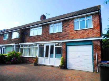 5 Bedrooms Semi Detached House for sale in Montagu Avenue, Newcastle Upon Tyne, Tyne and Wear, NE3
