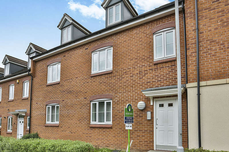2 Bedrooms Flat for sale in Burberry Avenue, Hucknall, Nottingham, NG15