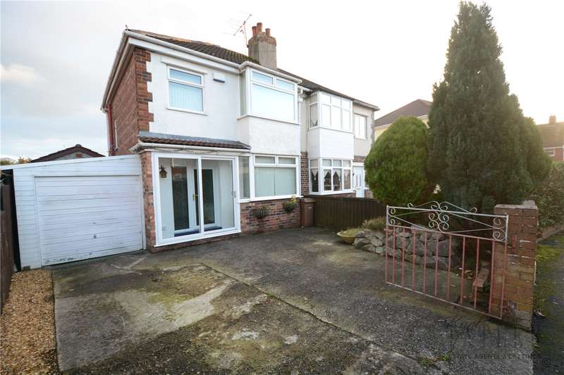 3 Bedrooms Semi Detached House for sale in Somerset Road, Pensby, Wirral