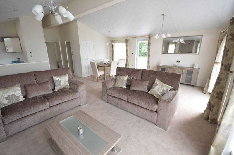 3 Bedrooms Lodge Character Property for sale in Dawlish Sands Holiday Park, Warren Road, Dawlish Warren