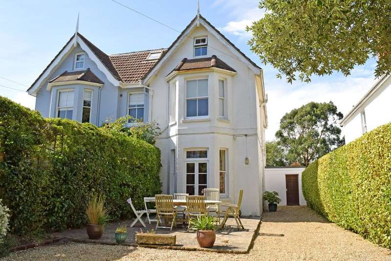4 Bedrooms Semi Detached House for sale in Swains Road, Bembridge, PO35 5XT