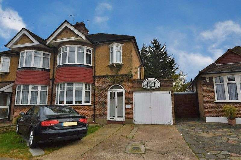 3 Bedrooms Semi Detached House for sale in Elm Close, North Harrow