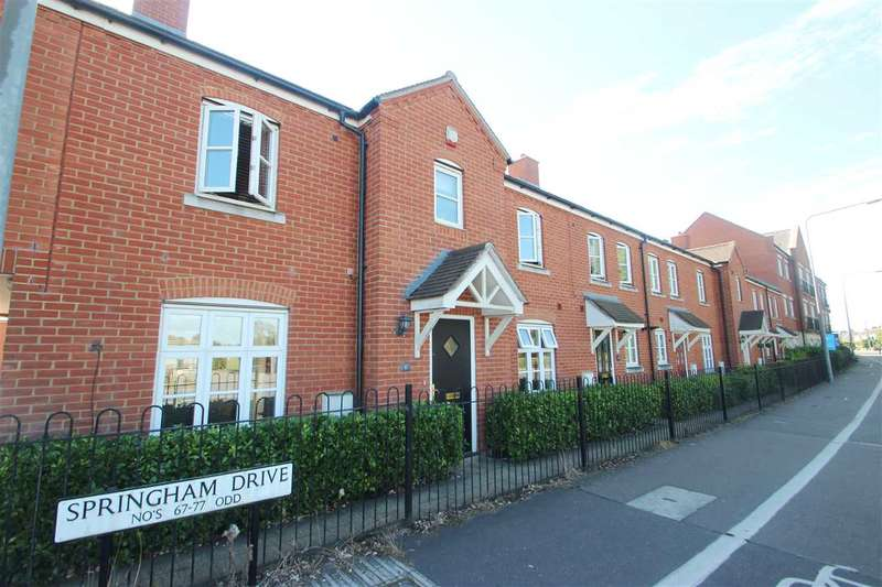 3 Bedrooms Terraced House for sale in Springham Drive, Myland, Colchester