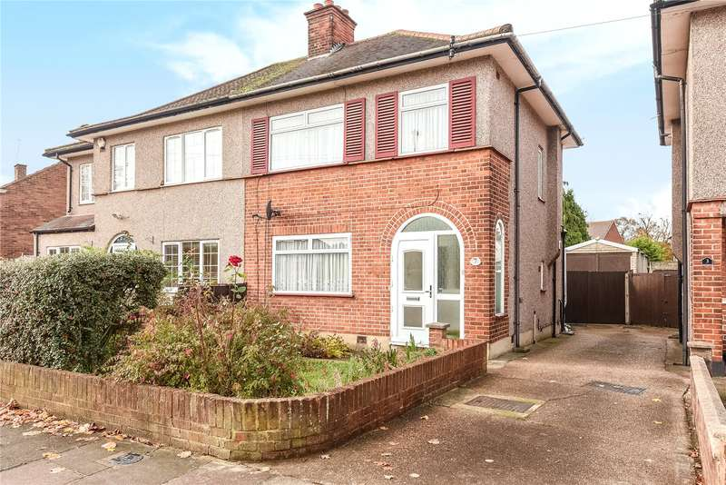 3 Bedrooms Semi Detached House for sale in Hughenden Gardens, Northolt, Middlesex, UB5