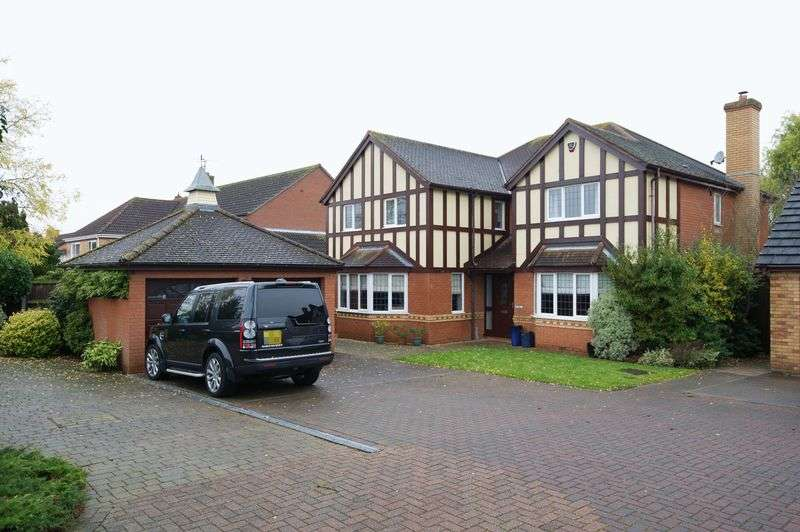5 Bedrooms Detached House for sale in Eaton Ford, St. Neots