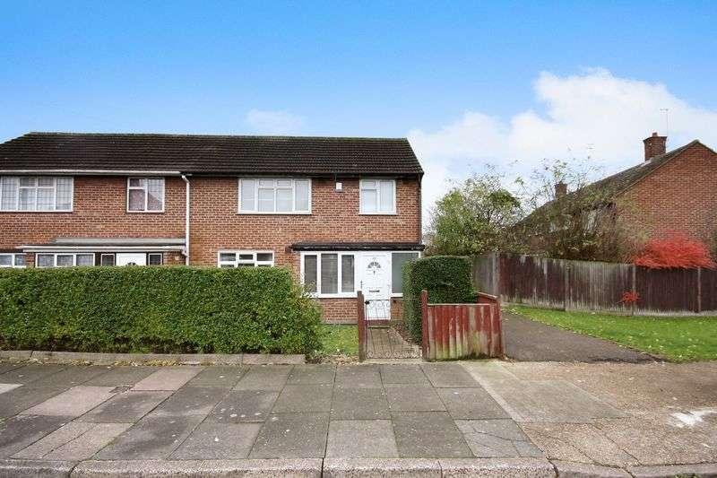 3 Bedrooms Semi Detached House for sale in Wilsmere Drive, Northolt