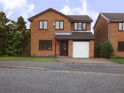 4 Bedrooms Detached House for sale in Columbia Way, Blackburn, Lancashire