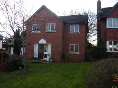 4 Bedrooms Detached House for sale in Mere Bank, Davenham, Northwich, Cheshire