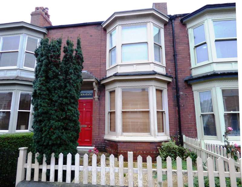 3 Bedrooms Terraced House for sale in Montrose Street, Saltburn By The Sea