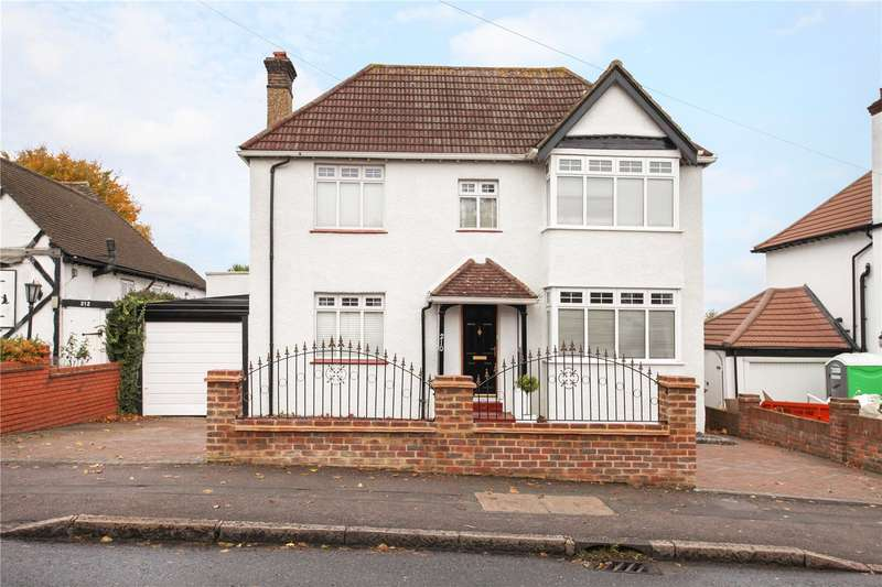 4 Bedrooms Detached House for sale in Stanley Park Road, Carshalton Beeches, Surrey, SM5
