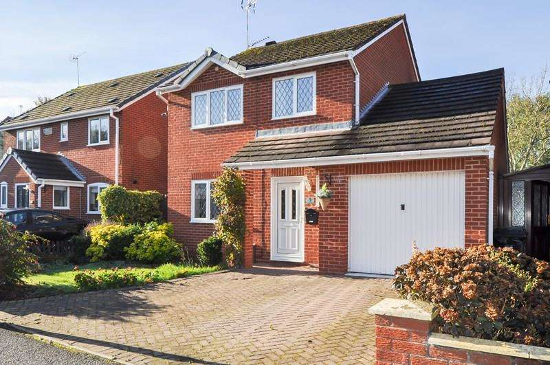 3 Bedrooms Detached House for sale in Foxcote Close, Winyates East, Redditch