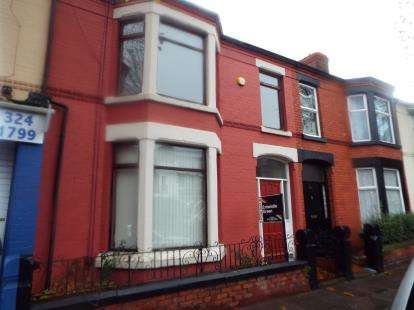4 Bedrooms Terraced House for sale in Derby Lane, Liverpool, Merseyside, United Kingdom, L13