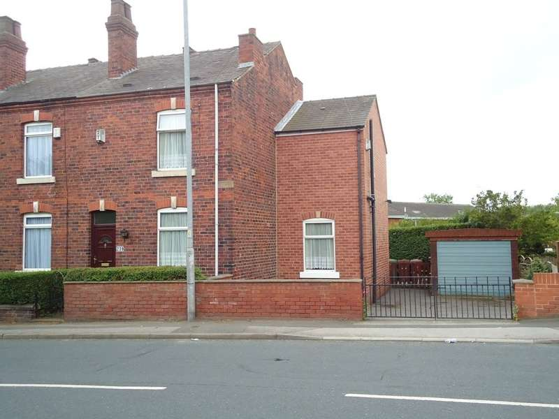 3 Bedrooms End Of Terrace House for sale in Batley Road, Wakefield