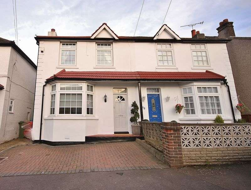2 Bedrooms Semi Detached House for sale in Alexandra Road, Warlingham