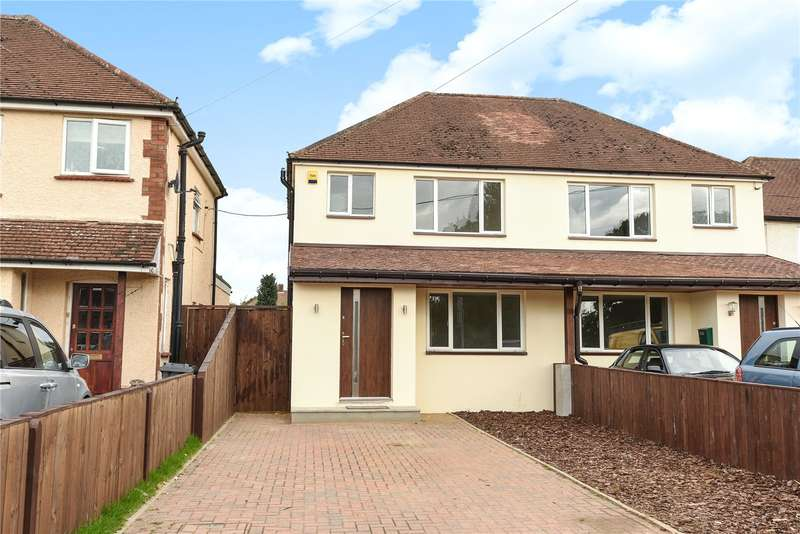 3 Bedrooms Semi Detached House for sale in Frimley Green Road, Frimley Green, Camberley, Surrey, GU16