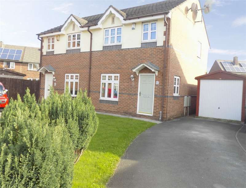 3 Bedrooms Semi Detached House for sale in Dovenby Fold, Ince, Wigan, Lancashire
