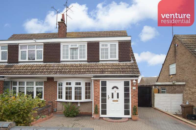 3 Bedrooms Semi Detached House for sale in Hasketon Drive, Luton, Beds, LU4 9EZ
