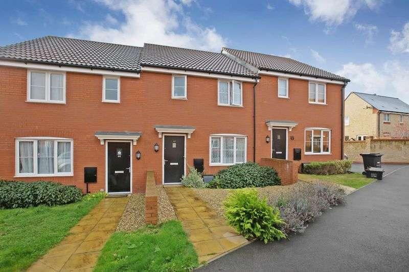 3 Bedrooms Terraced House for sale in Lilliana Way, Wilstock Village, Bridgwater