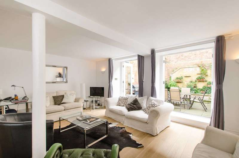 3 Bedrooms Maisonette Flat for sale in Regents Bridge Gardens, Vauxhall, SW8