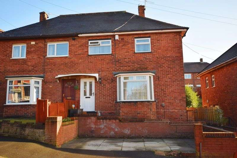 3 Bedrooms Semi Detached House for sale in Barks Drive, Norton