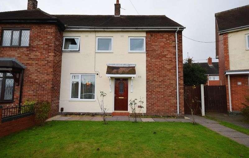 3 Bedrooms Semi Detached House for sale in Alderney Crescent, Blurton