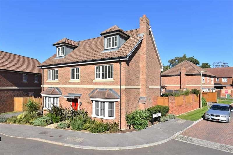 6 Bedrooms Detached House for sale in COLUMBUS DRIVE, SARISBURY GREEN
