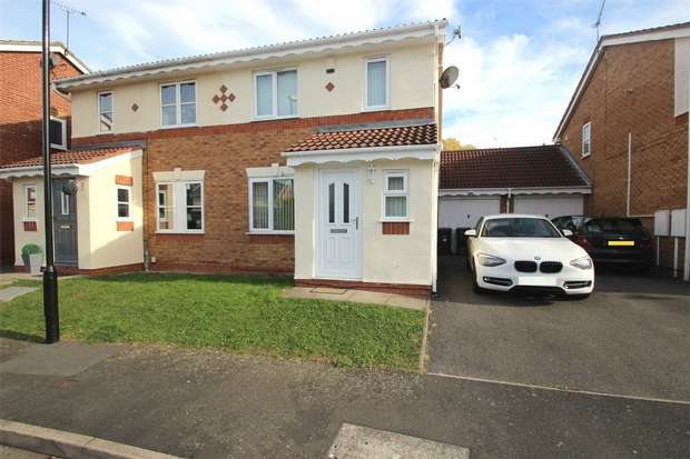 3 Bedrooms Semi Detached House for sale in Minton Road, Walsgrave, Coventry