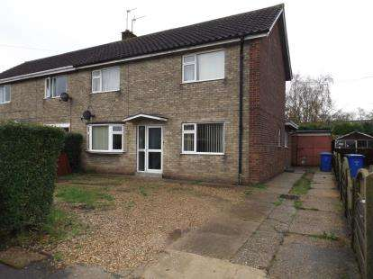 3 Bedrooms Semi Detached House for sale in Woad Farm Road, Boston, Lincolnshire, England
