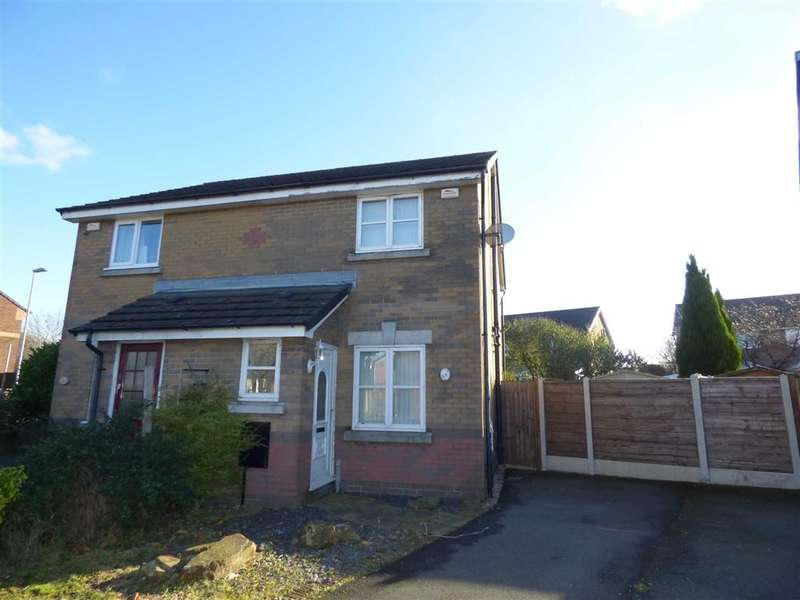 2 Bedrooms Property for sale in Grassington Drive, Heap, BURY, Lancashire, BL9