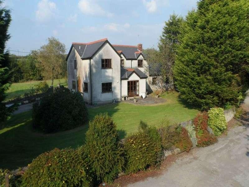 5 Bedrooms Semi Detached House for sale in Heol Las House, Coity, Bridgend CF35 6BS