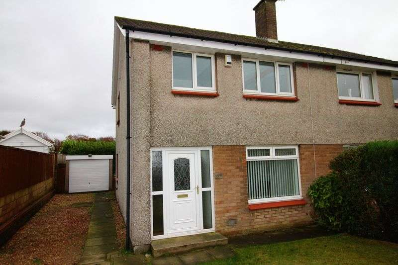 3 Bedrooms Semi Detached House for sale in Barry Road, Kirkcaldy
