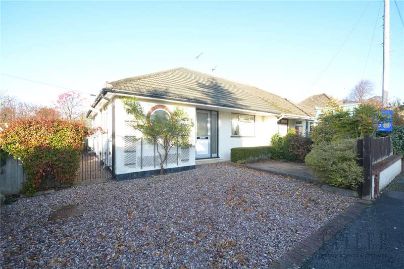 2 Bedrooms Semi Detached Bungalow for sale in Mostyn Avenue, Lower Heswall, Wirral